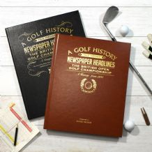 The Open Golf - Newspaper Book